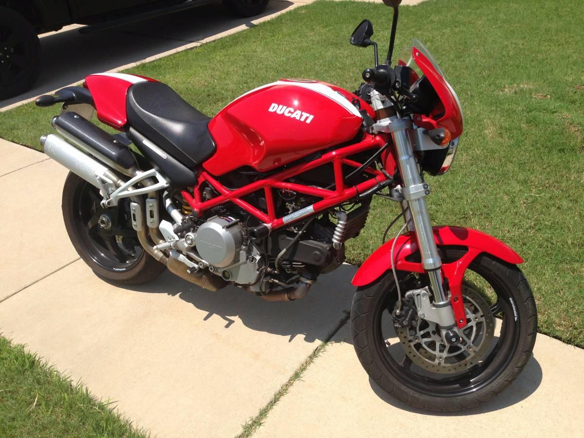 Looking for Dad\'s Old bike - 2007 Ducati Monster S2R 800 VIN ...