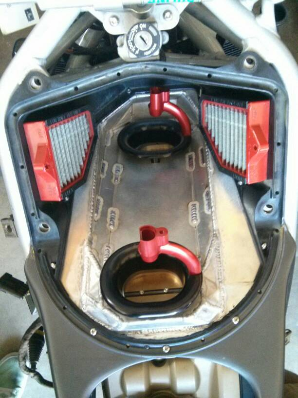 Aluminum airbox for 996 to 1198 swap - Ducati.ms - The ...