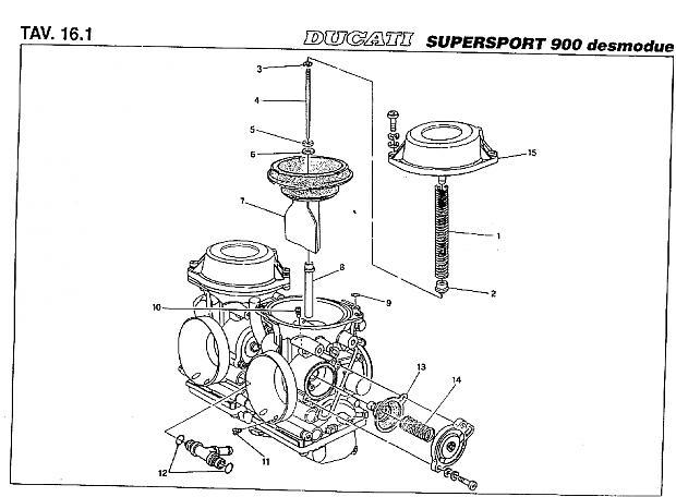 Mikuni CV carb rebuild questions - Ducati.ms - The Ultimate Ducati ...