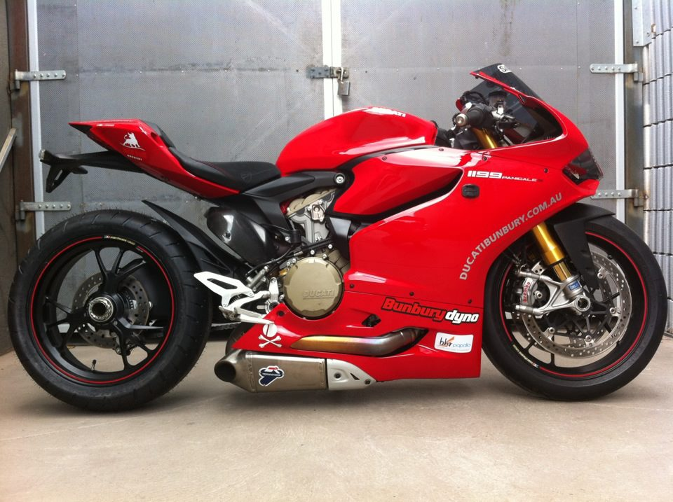 Ducati Rear Tire Size
