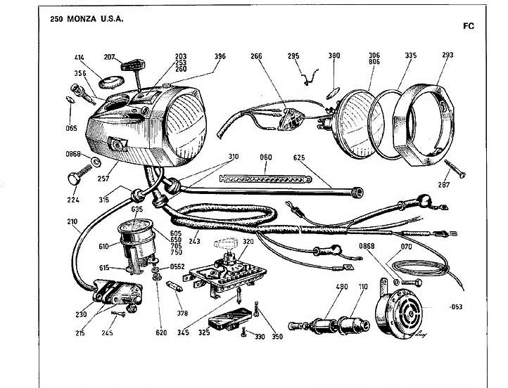 6v electrics ducati monza 160 help and advice needed rh ducati ms Stator Wiring Diagram Ducati 848 Ecu Wiring Diagram
