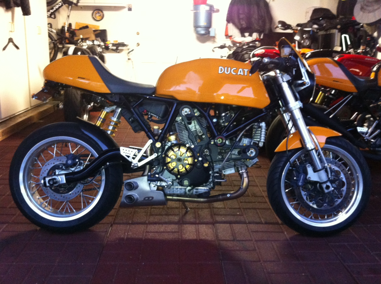 2006 ducati sport classic with qd exhaust - ducati.ms - the