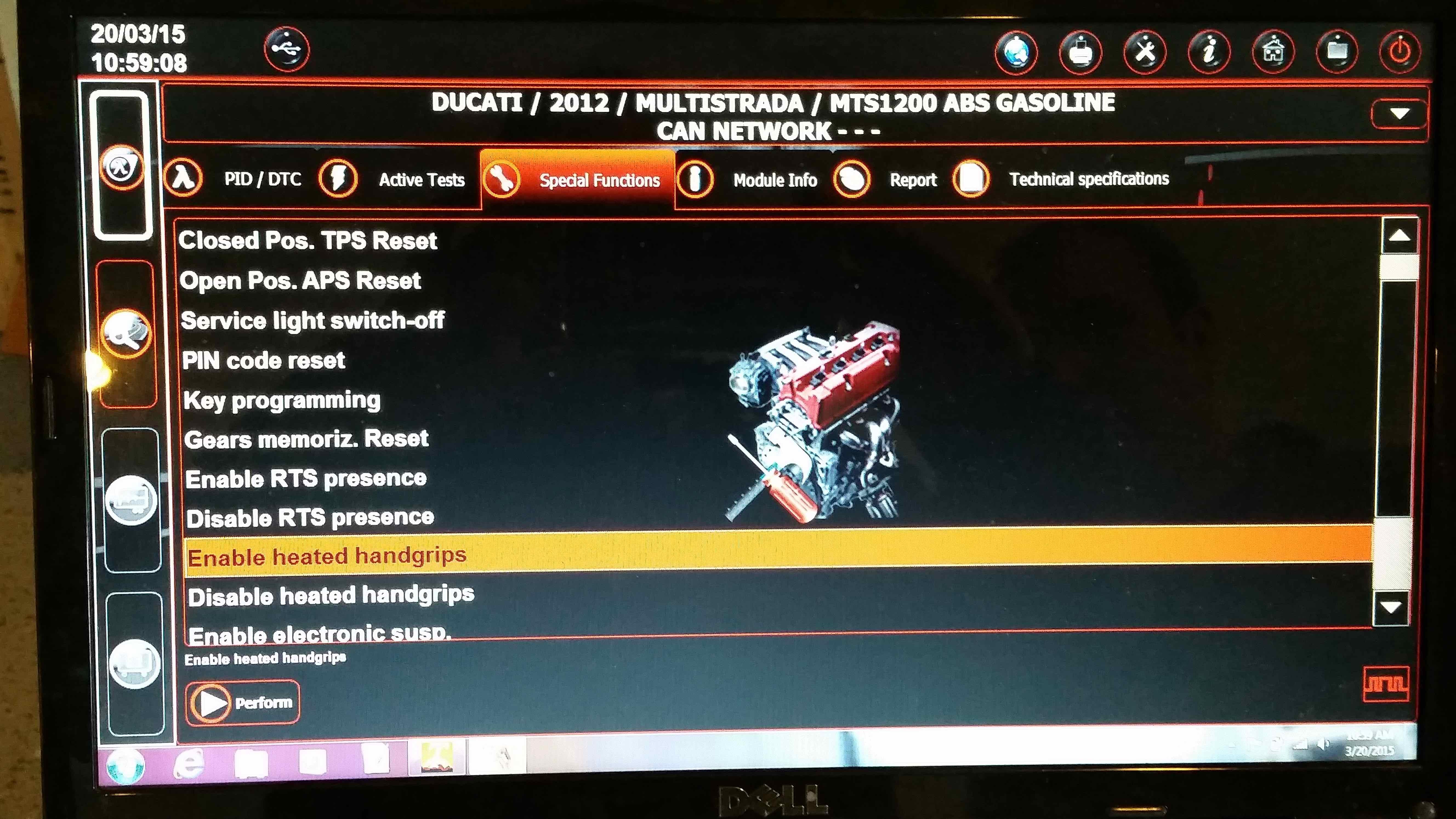MTS 2012 heated grips - Ducati ms - The Ultimate Ducati Forum