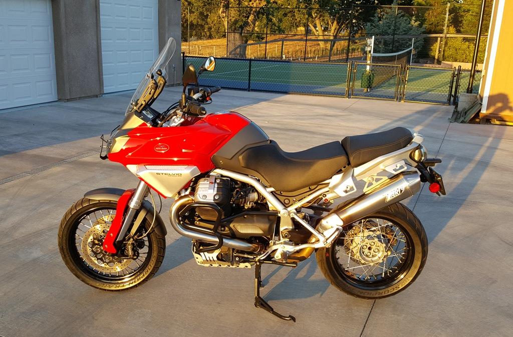 FS: 2009 Moto Guzzi Stelvio 1200 - Ducati ms - The Ultimate