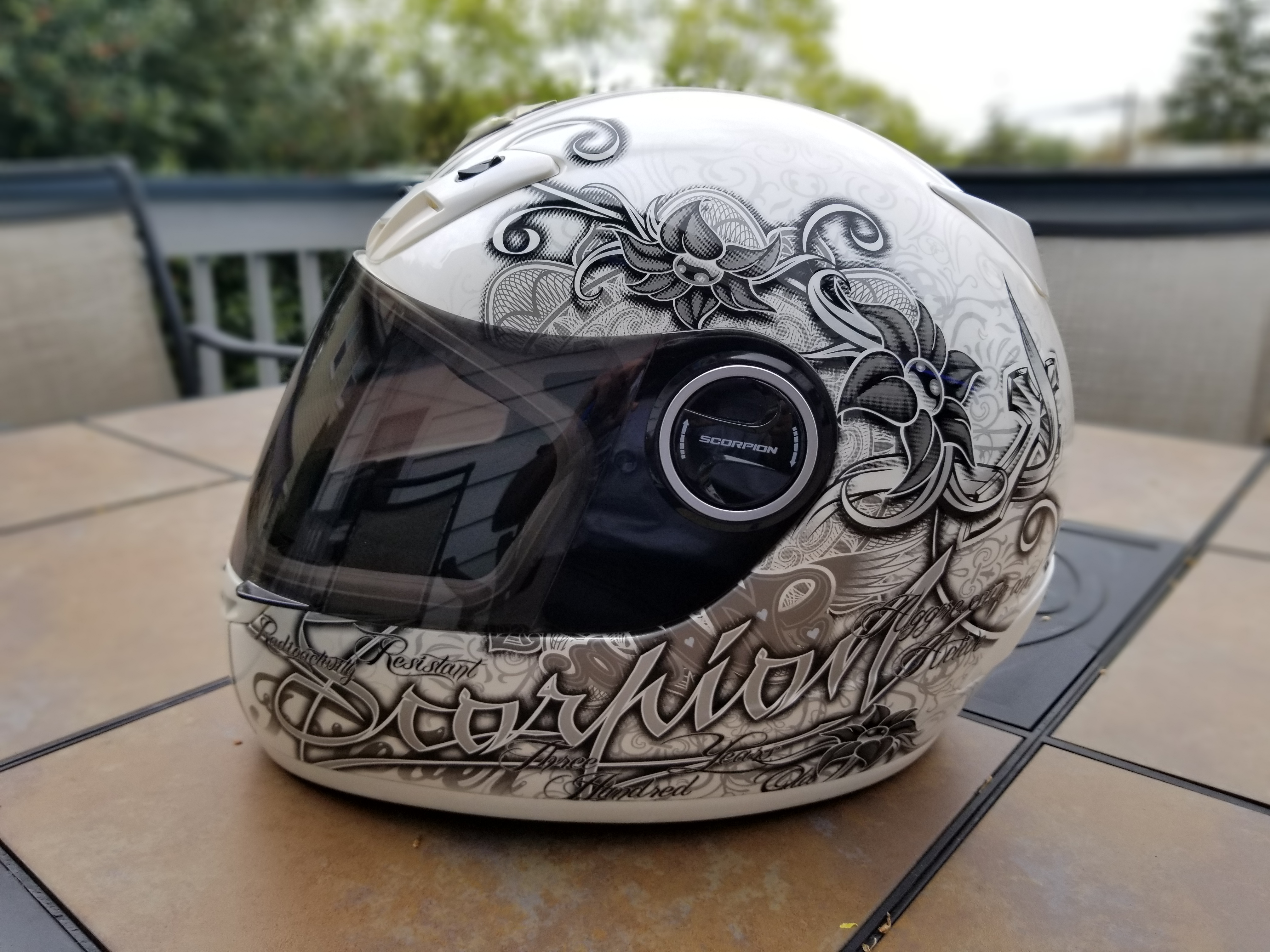 Scorpion Ann EXO-400 Street Motorcycle Helmet - Pearl White Extra Small XS-20190421_115317_1560210079998.jpg