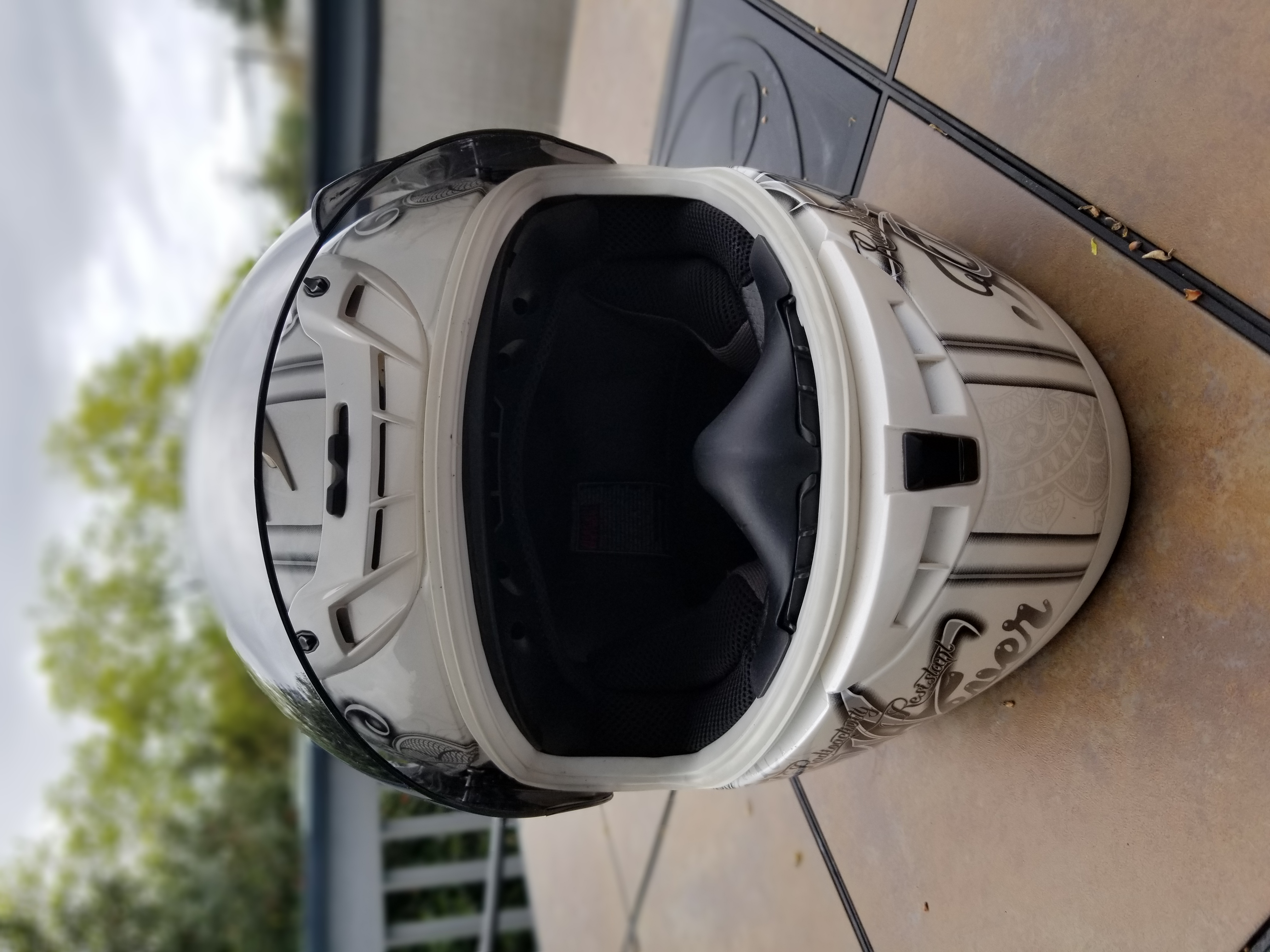 Scorpion Ann EXO-400 Street Motorcycle Helmet - Pearl White Extra Small XS-20190421_115457_1560210140540.jpg