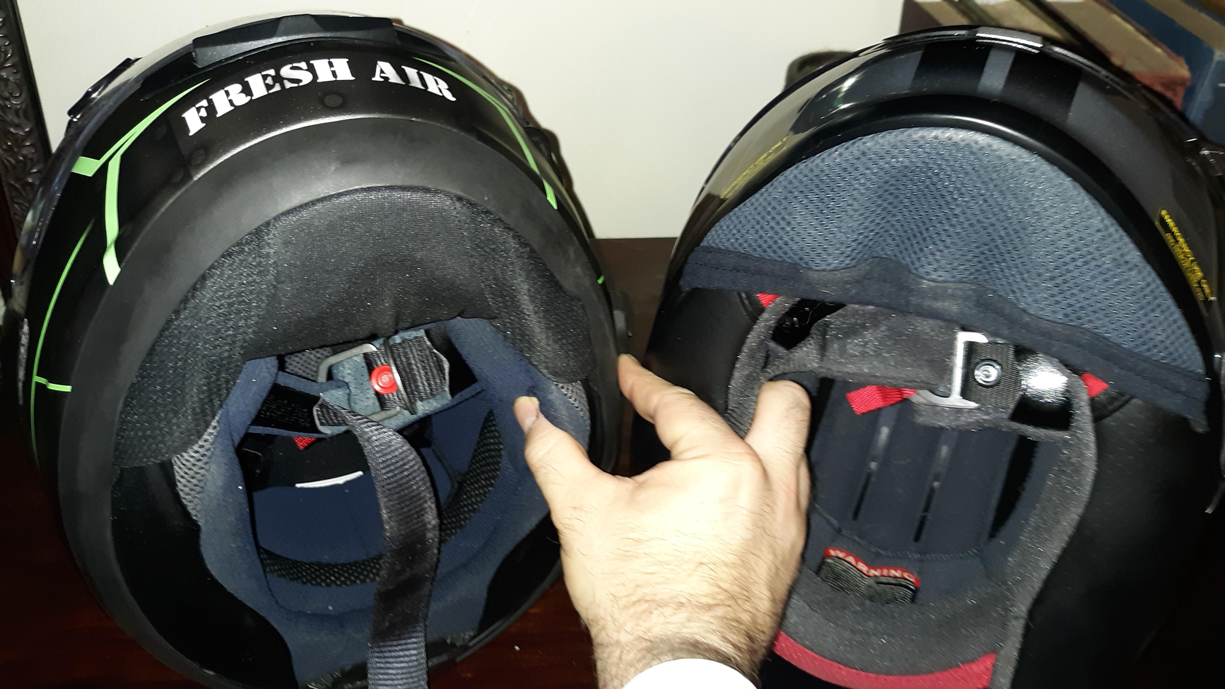 Shoei RF1200 v. Arai Corsair X: Head to head comparison-20190623_185325_1561330434423.jpg
