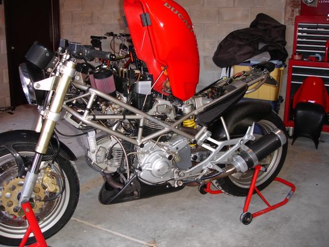 Ducati Monster  Battery Size