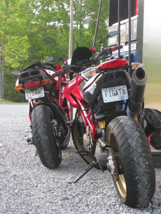 Ducati Vanity Plate Ideas
