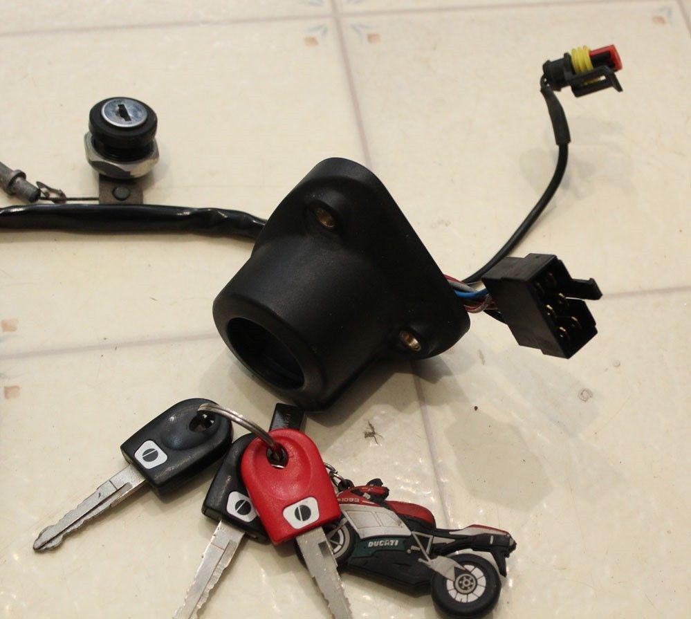 FS: Ducati 749 999 Tachometer Speedometer Lock Set 3 Keys