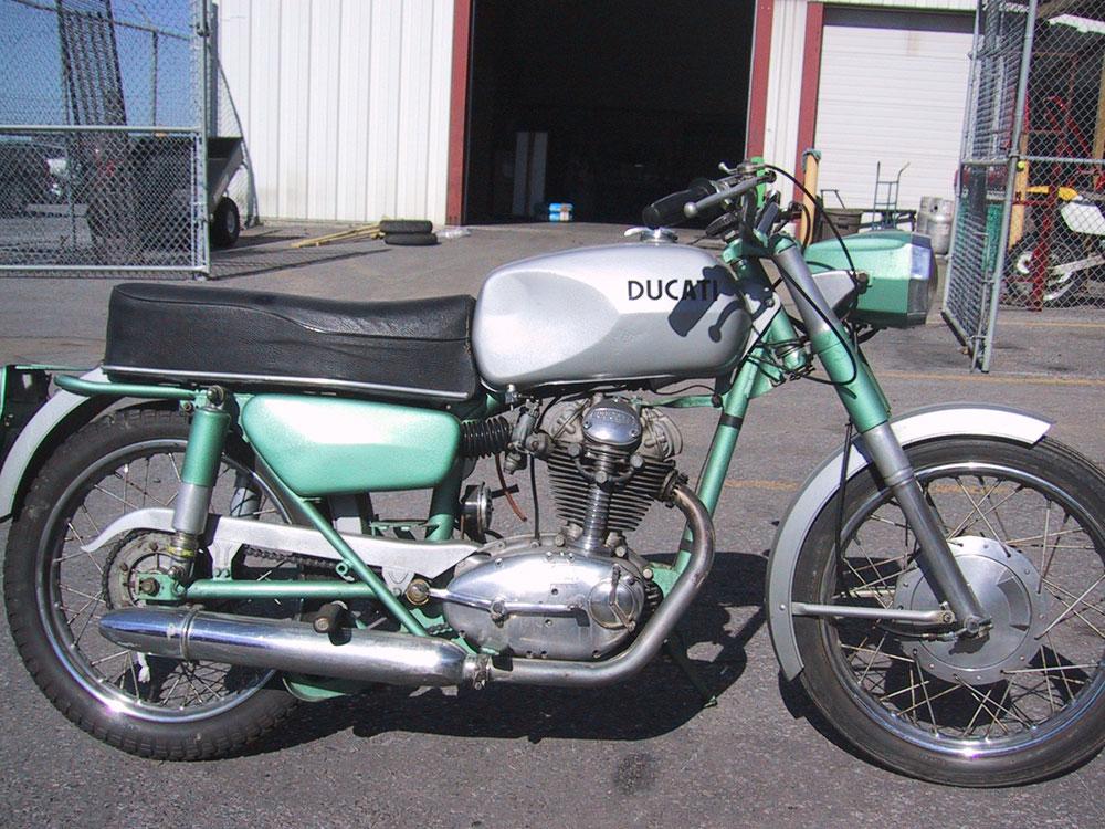 Ducati 250 Monza. photo of a 1964 250 Ducati