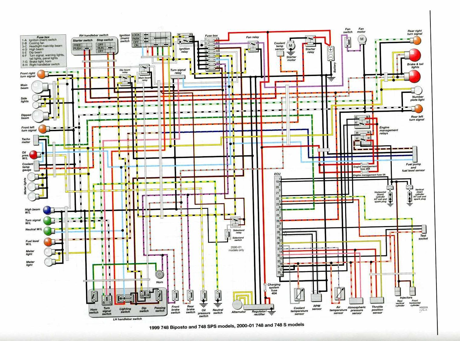 ducati 999 wiring diagram voltage regulator ducati 600ss wiring diagram
