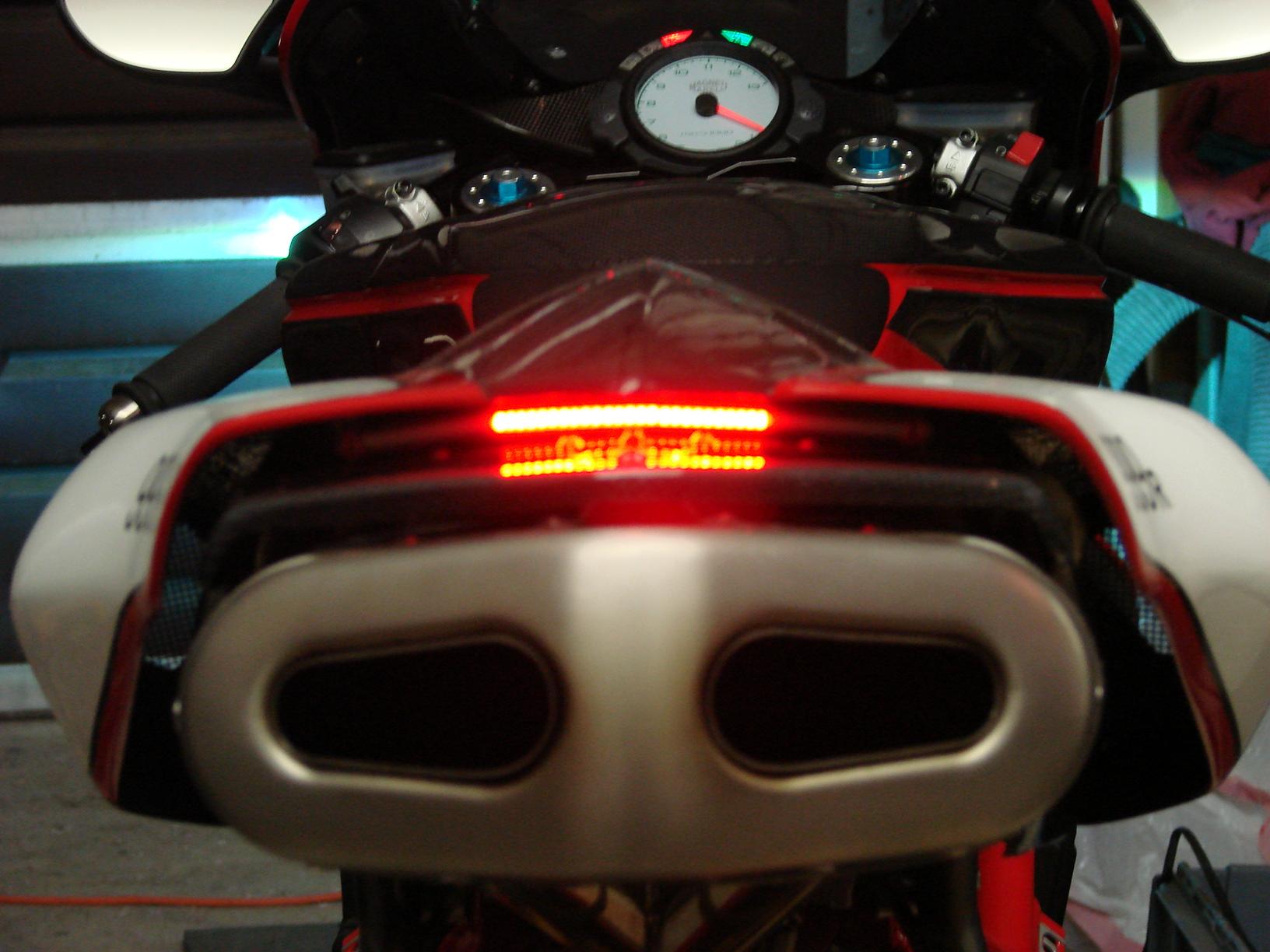 Ducati Tail Light Wiring Custom Diagram S4rs 749 999 Leo Vince Exhaust Brake Option Rh Ms