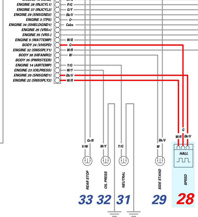 3 speed sensor wire diagram please help need to match 3 pin wires for the speedo sensor click image for larger