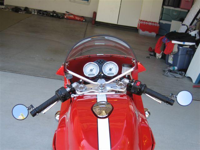 Bar End Spiegels : Motorcycle tube bar end mirror