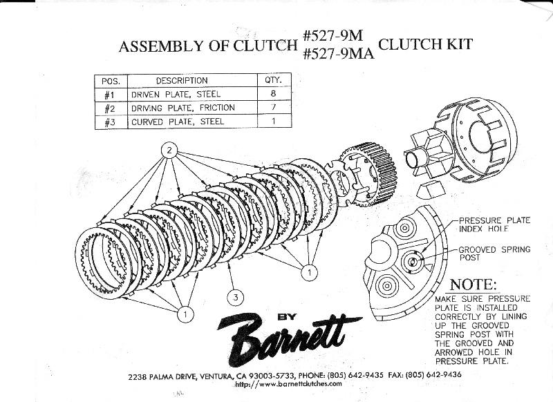 Barnett Clutch Diagram Ducati The Ultimate Ducati Forum