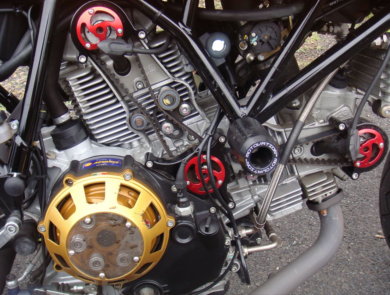 sport classic with rizoma timing belt covers - page 3 - ducati.ms