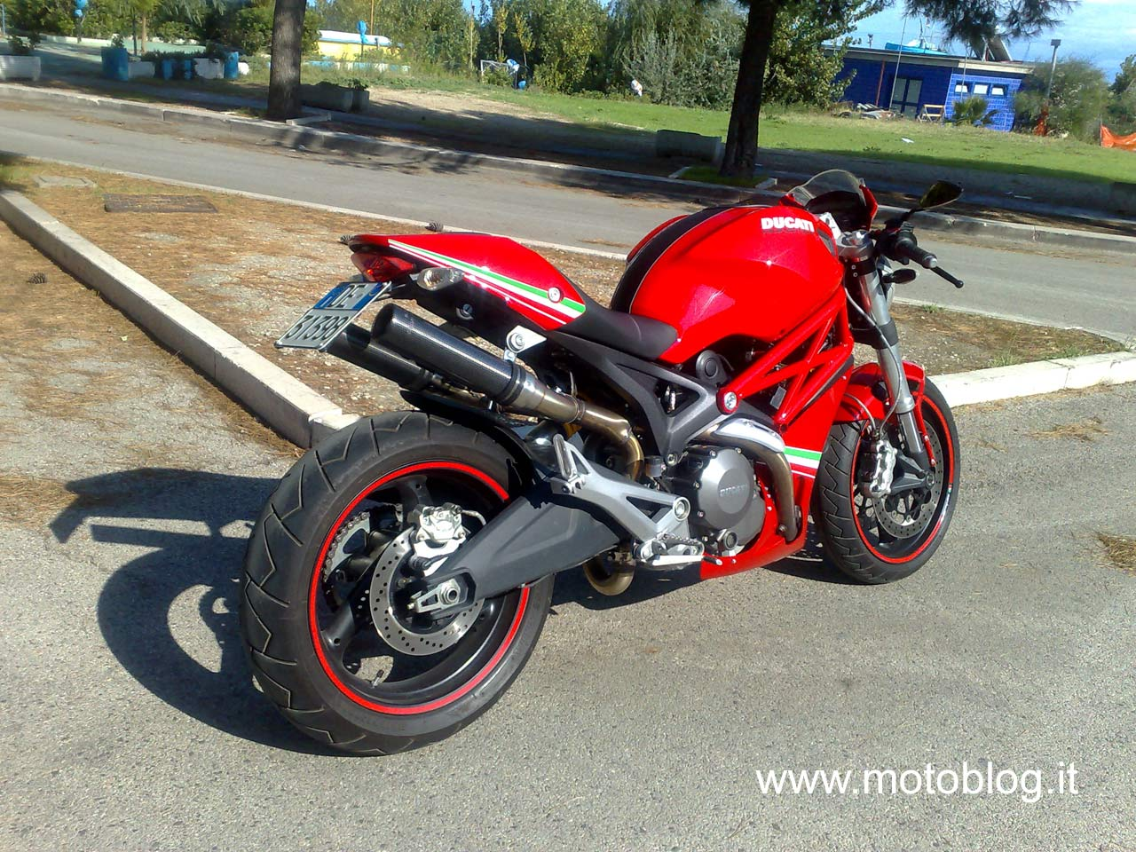 Ducati Monster  Belly Pan