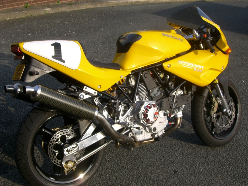 Ducati Supermono Conversion