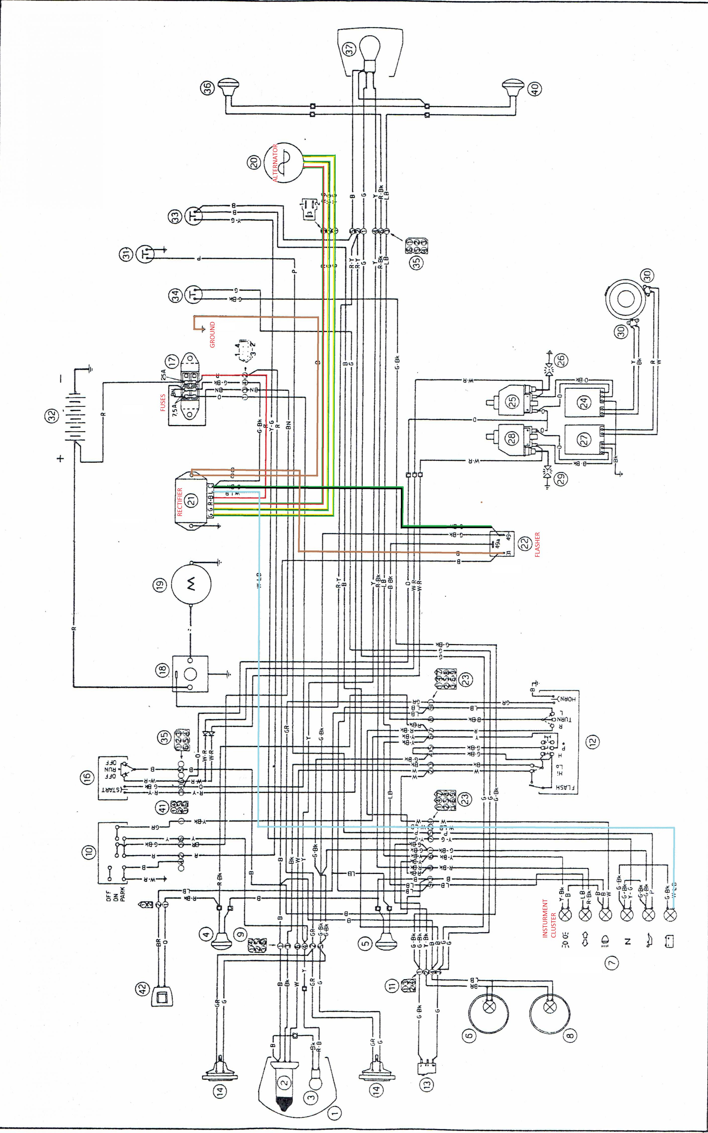 wiring a rectifier   18 wiring diagram images
