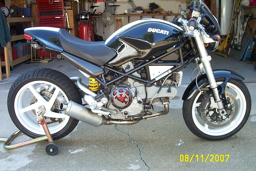 Ducati Monster Shorty Exhaust Idee Di Immagine Del Motociclo