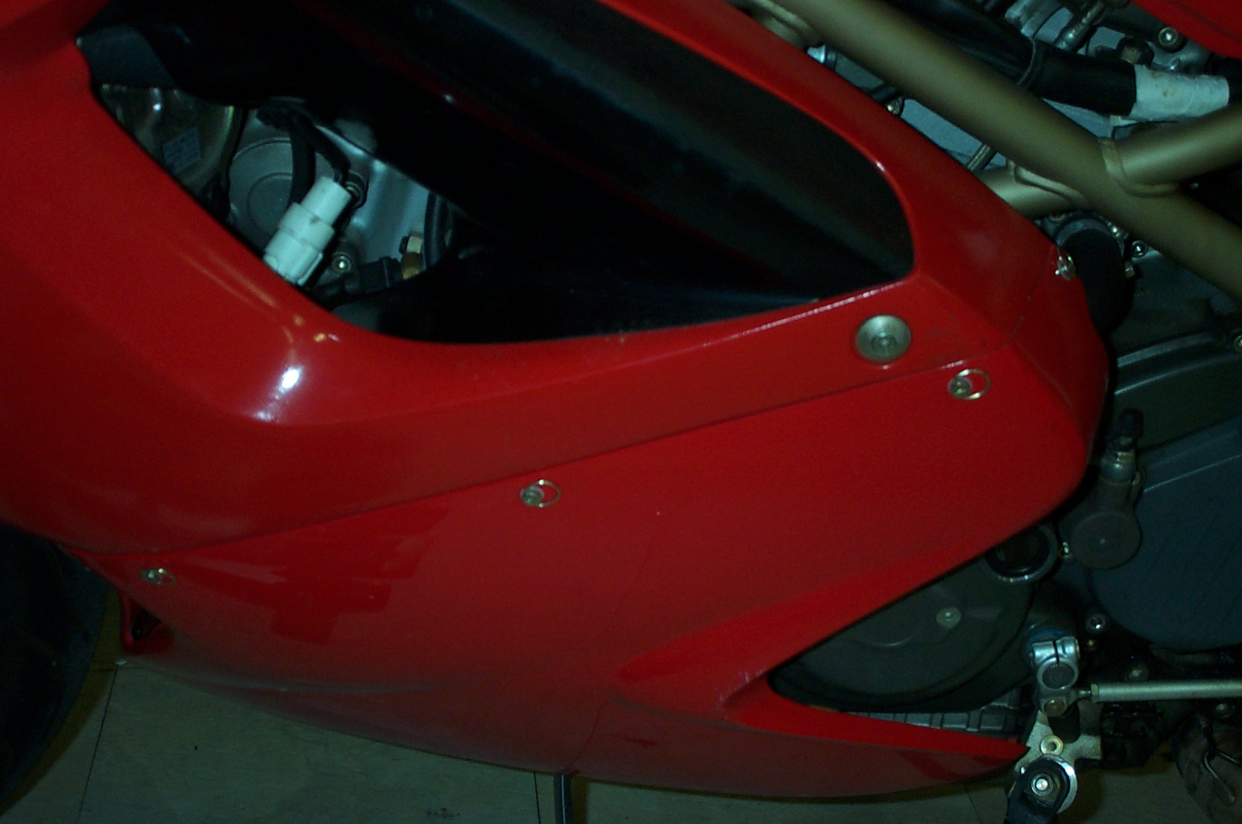 Dzus Conversion for Fairing Assembly, ST4 - Ducati.ms - The Ultimate Ducati  Forum