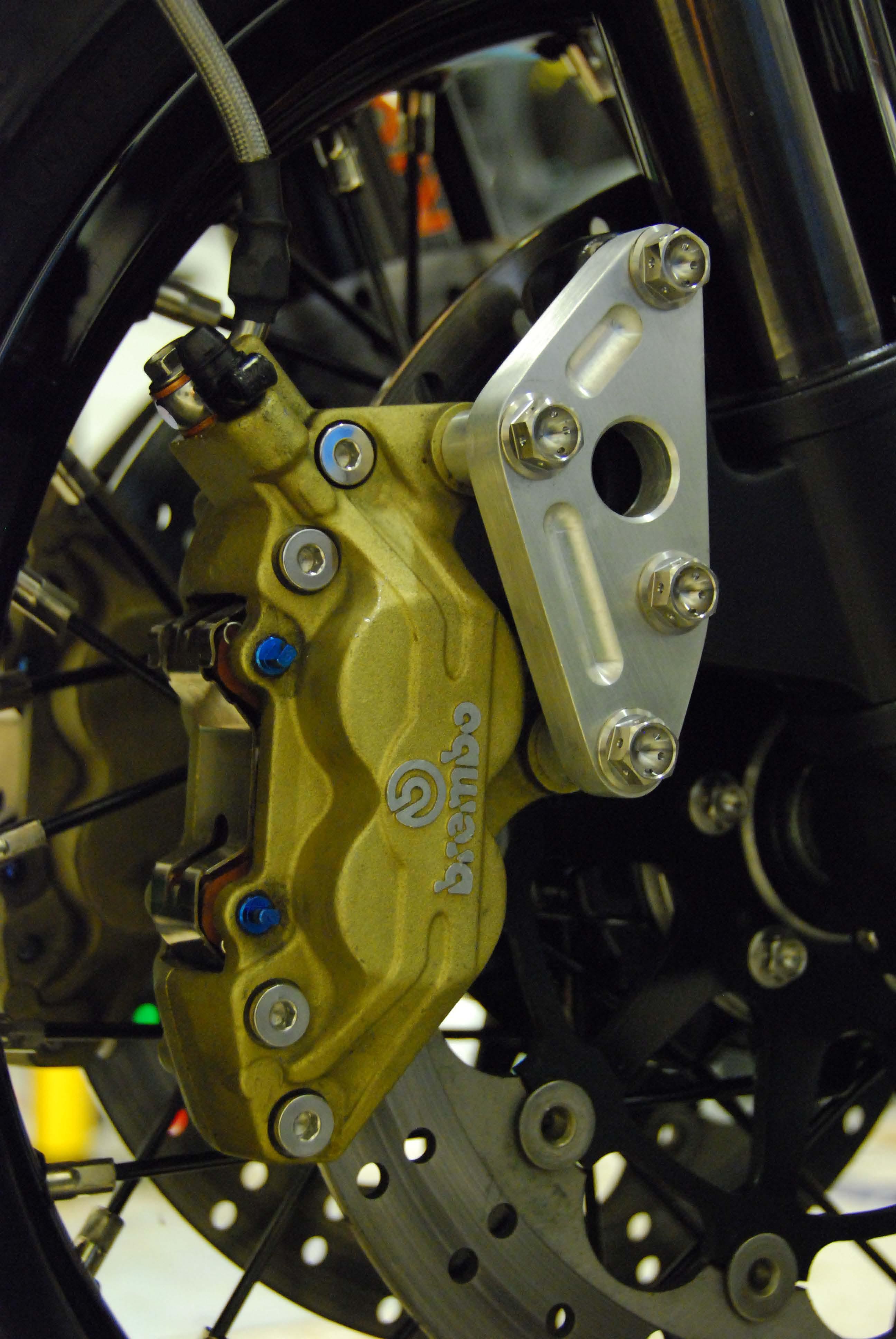 Brembo 4 Piston 2 Pad Caliper Conversion Upgrade Page