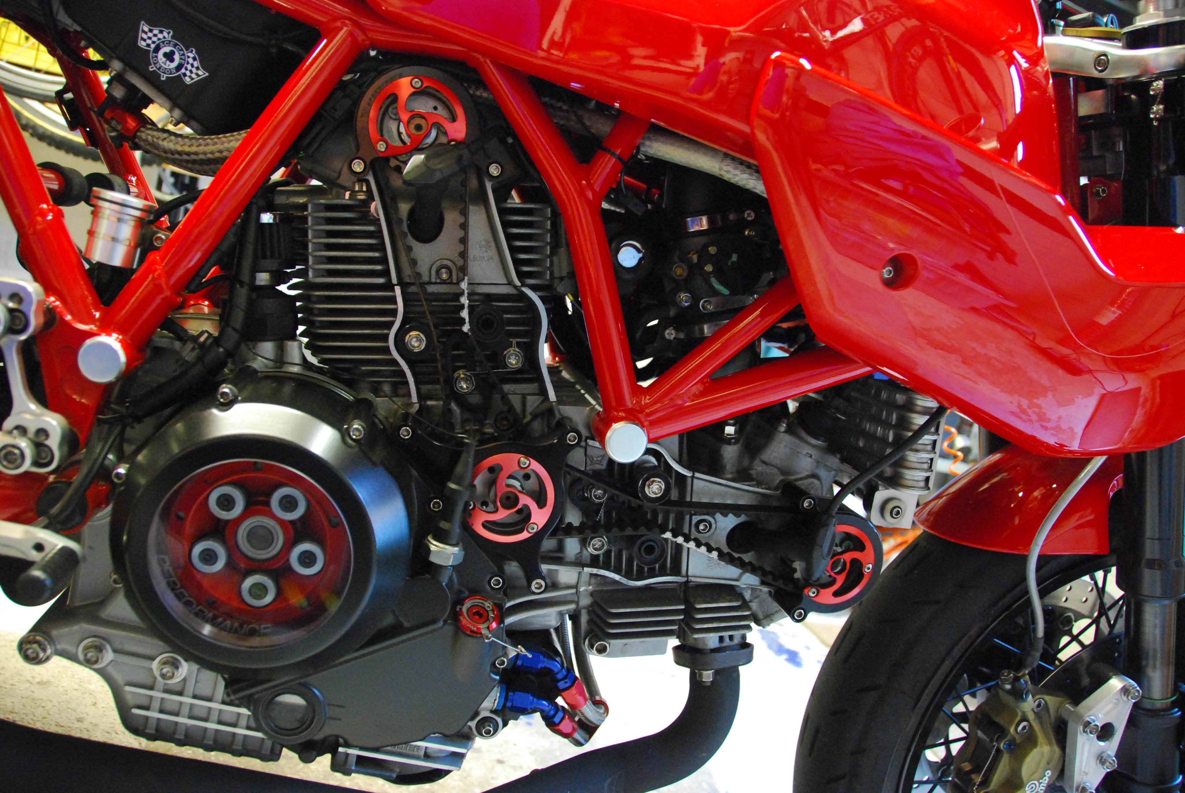 Ducati Monster Timing Belt Cover
