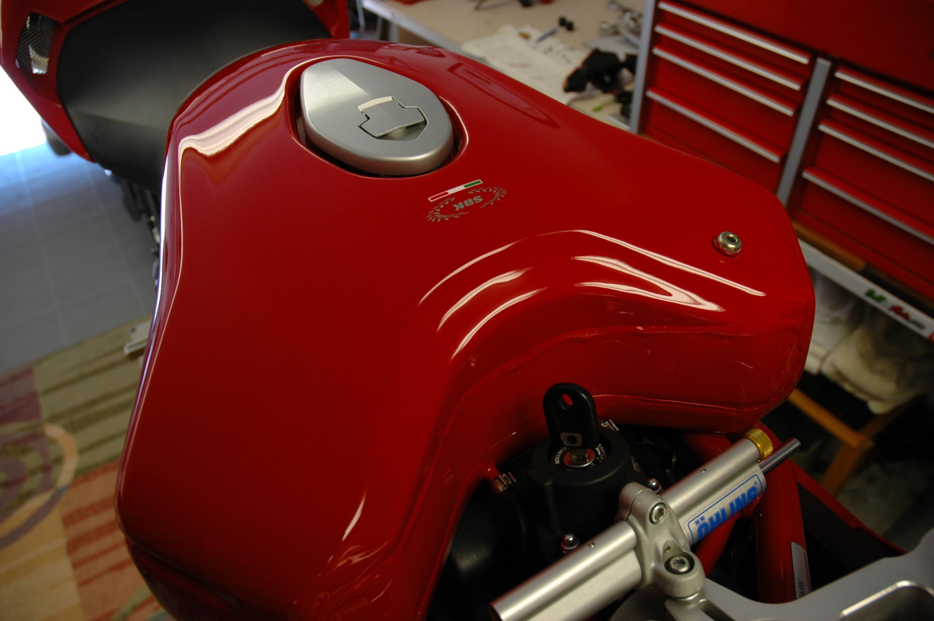 Ducati Scrambler Larger Gas Tank