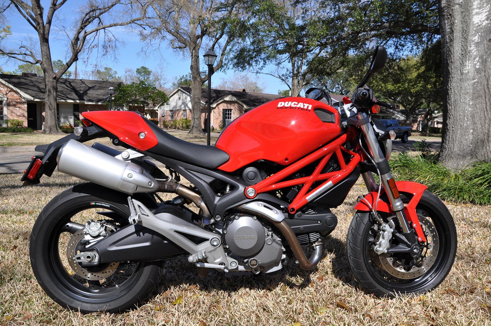 For Sale: 2008 Ducati Monster 696+ - Ducati.ms - The