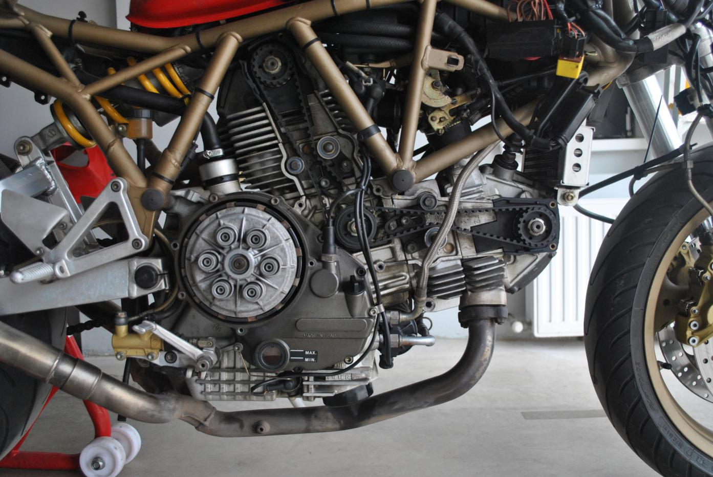 Ducati 900ss Ground Wiring - What Is This