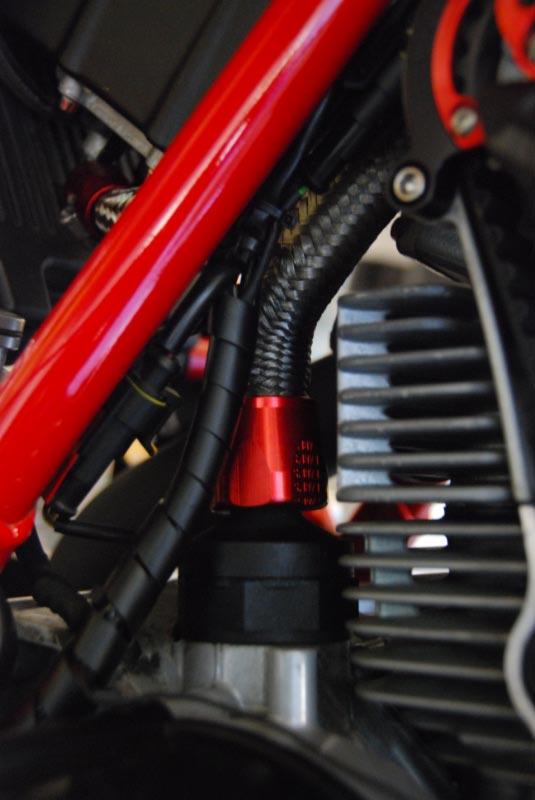 Replacing Crankcase / Oil Breather Hose - Ducati ms - The Ultimate