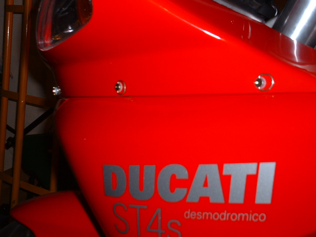 Dzus Conversion for Fairing Assembly, ST4 - Ducati ms - The