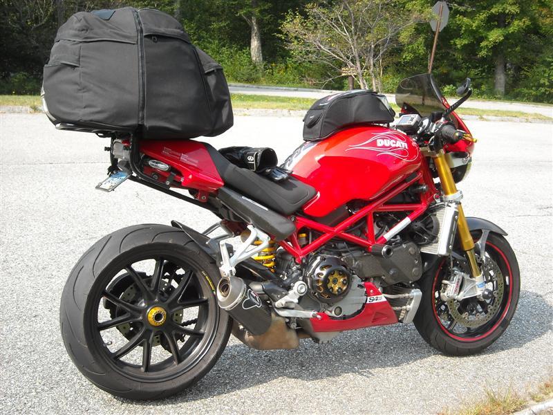 Ducati Monster Tank Bag