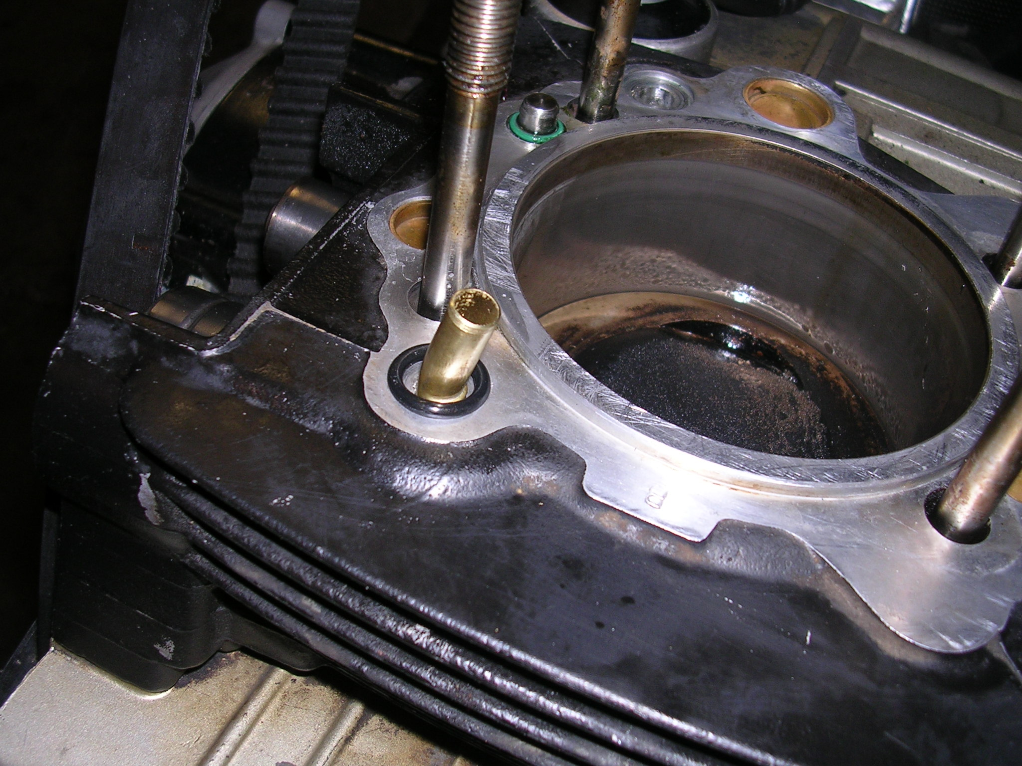 Cylinder Head To Cylinder Oil Return Leak Fix Ducati Ms