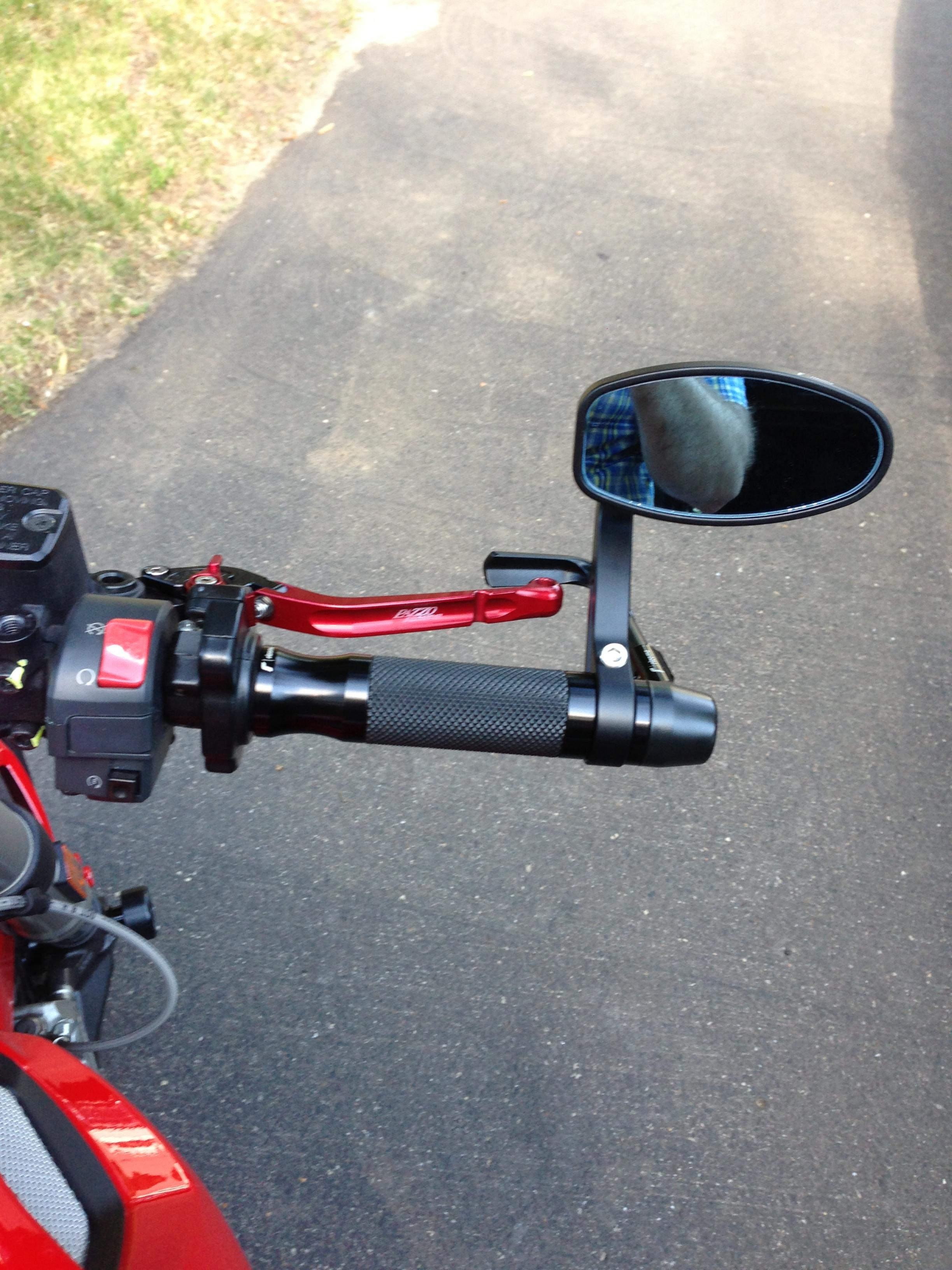 Bar End Mirrors Form Or Function Ducati Ms The