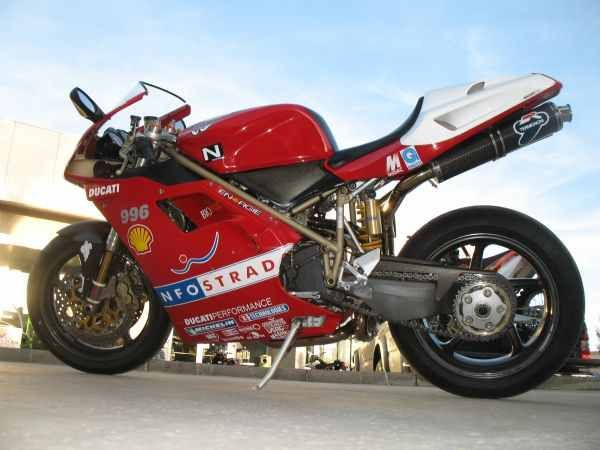 What Is This 996 Sps S Carl Fogarty Replica Ducati