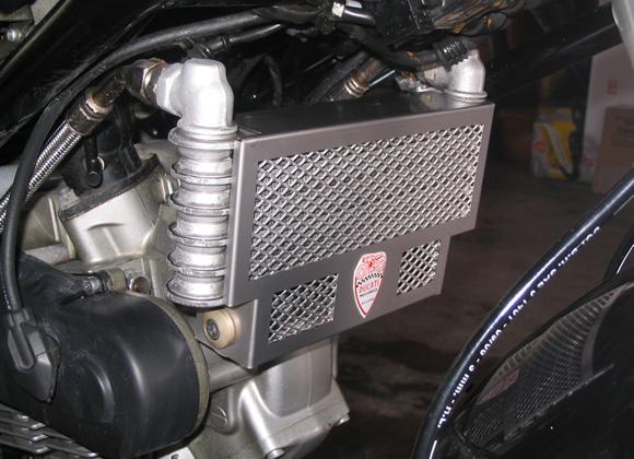 Ducati Remove Oil Cooler