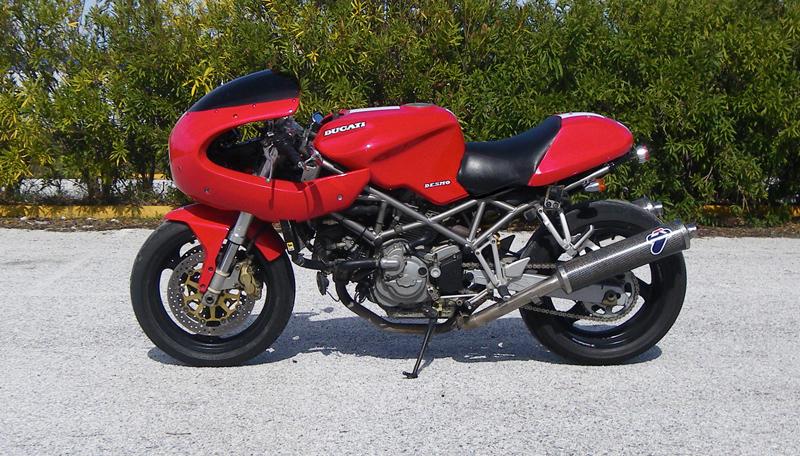 Ducati Monster Race Fairing