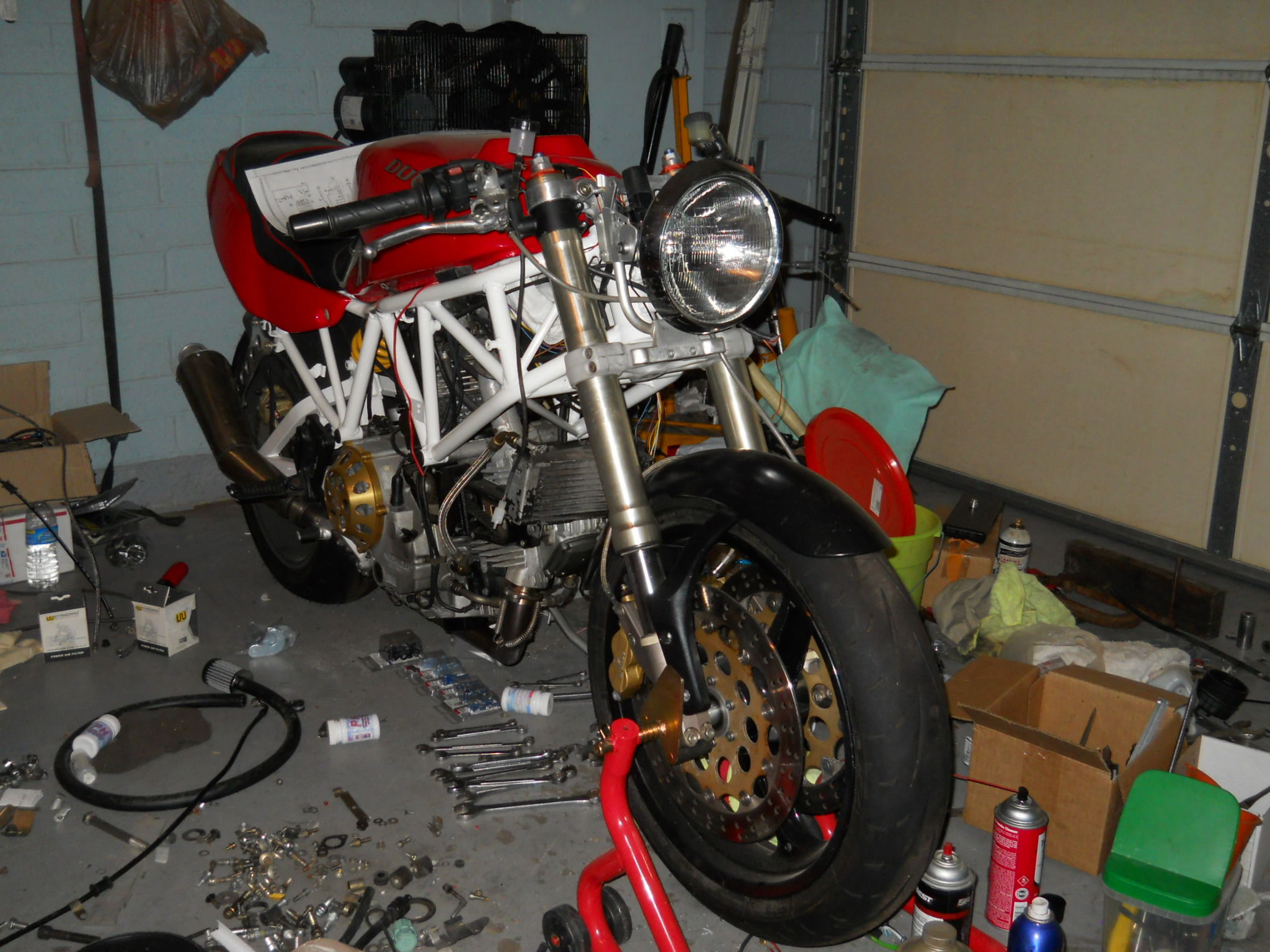 monster headlight on a supersport? - ducati.ms - the ultimate