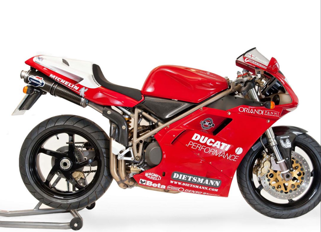 Carl Fogarty Ducati