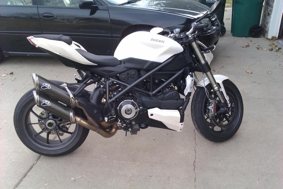 Ducati Streetfighter 848 White Streetfighter 848 White
