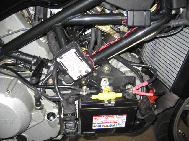 secondary fusebox for the electrically challenged ... ducati 696 fuse box ducati 916 fuse box #13