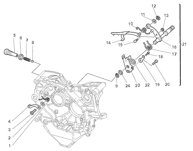 Gear Shifting Mechanism in Motorcycle Gear Shift Mechanism.jpg