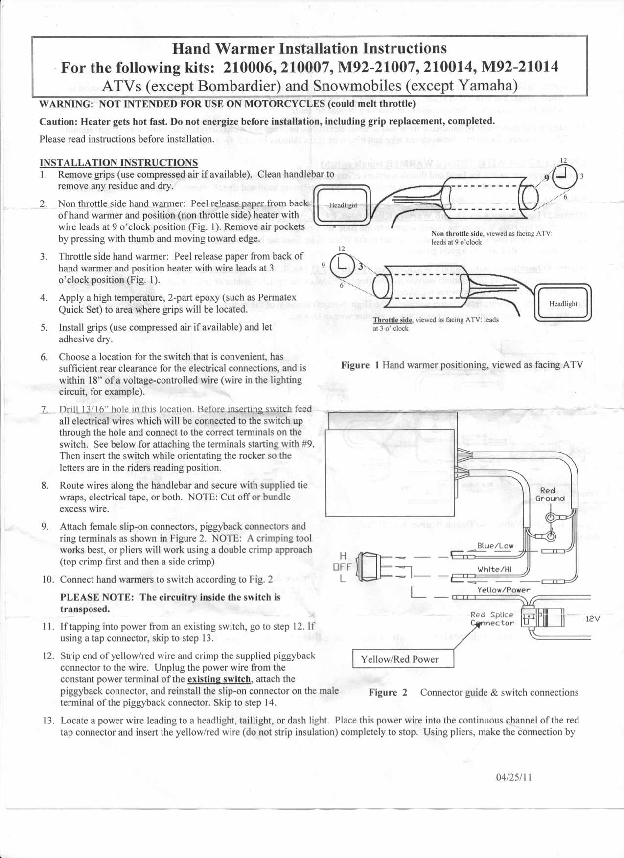286833d1382138612 electrical experts hacks question about installing heated grips heated grips instuctions for electrical experts or hacks,question about installing heated kimpex wiring diagram at soozxer.org