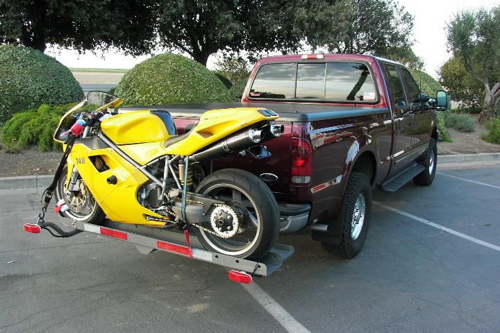 Motorcycle Hitch Carrier Ducati Ms The Ultimate Ducati