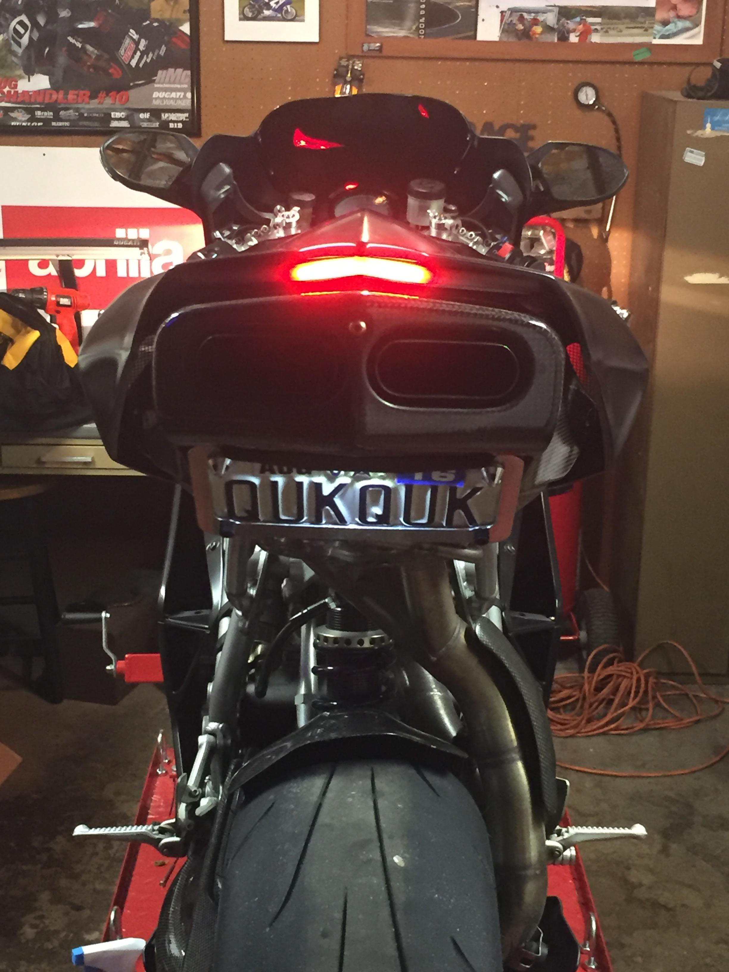 New Rage Cycles Tail Light Mod Ducatims The Ultimate - Ducati 999 tail light wiring