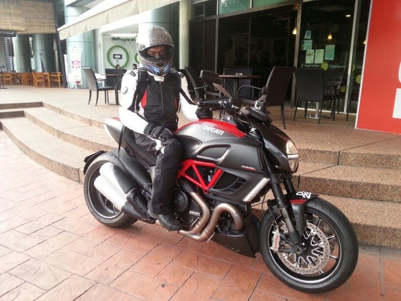 2012 ducati diavel thailand assembly - firsttime owner ride
