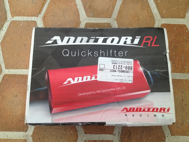 annitori quickshifter installed on sf 848 - ducati.ms - the