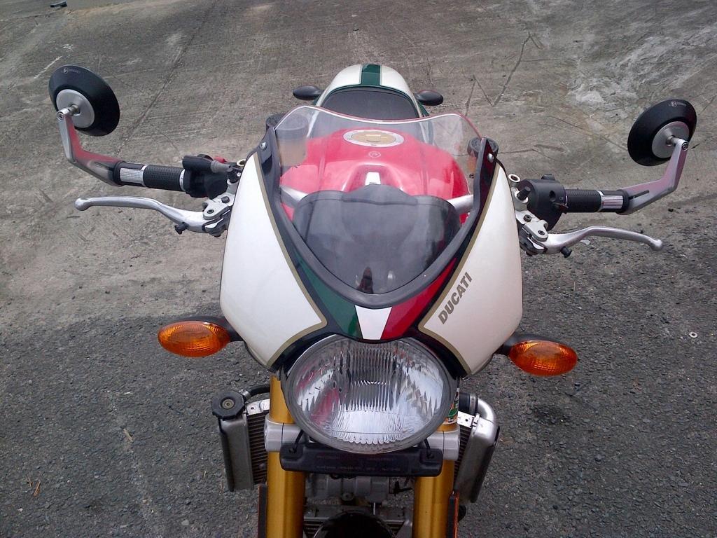 Ducati Panigale Rizoma Mirrors